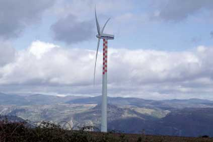 The deal cover Vestas V52 turbine