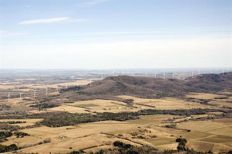 First Wind's portfolio includes the 42MW Mars Hill project in Maine