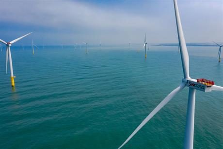 Turbine installation has been completed at Formosa 1 Phase 2 -- Taiwan's first first large-scale offshore wind farm (pic: Swancor)