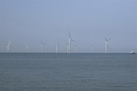 Taiwan's first large-scale offshore wind farm, the 120MW Formosa 1 Phase 2 (pic: Siemens Gamesa)