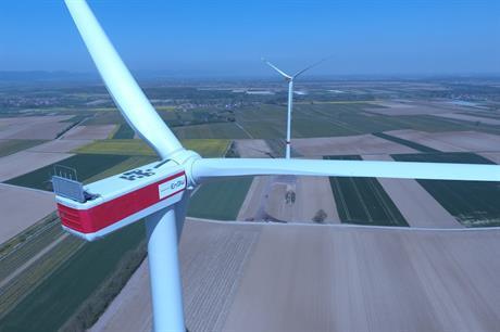 EnBW's 19.8MW Freckenfeld wind farm in Rhineland-Palatinate, Germany