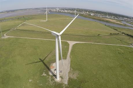 Peel Energy's 50.35MW Frodsham project in Cheshire, England, was commissioned in a record-breaking 2017