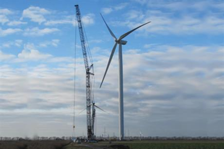 GE will install its 2.75MW turbines on the project