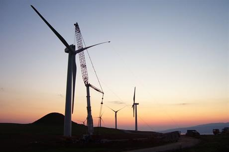 Turkey's cumulative wind capacity stood at 6.1GW at end 2016