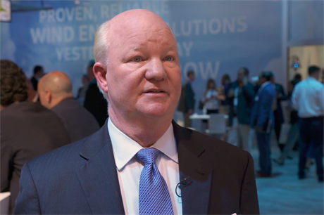GE Renewable Energy offshore wind CEO John Lavelle at AWEA Windpower 2017