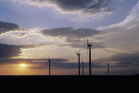 Worker dies in fall at US wind  farm