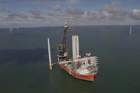 Innogy saw its 352.8MW Galloper site (above) in the UK North Sea produce first power in October