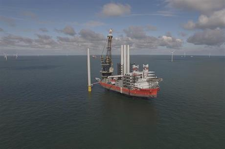 The 353MW Galloper project off the south-east coast of England was commissioned earlier this year (pic credit: Innogy)
