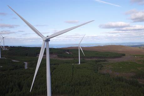 The second phase of the Galway Wind Park features 36 of Siemens' SWT-3.0-101 turbines (pic: SSE)