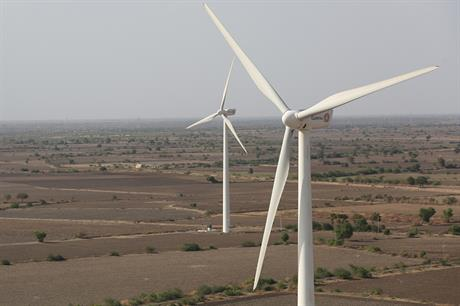 India added 5.4GW of new wind capacity over the financial year ending in March 2017