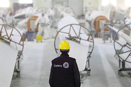 "Gamesa said it ""regularly analyses the various strategic opportunities presented for the group"""