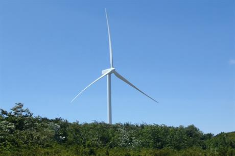 Gamesa's G114 turbine was the manufacturer's bestselling model in 2015