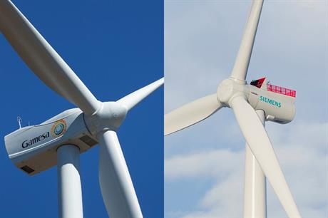 A merger between Siemens and Gamesa would result in the world's largest OEM