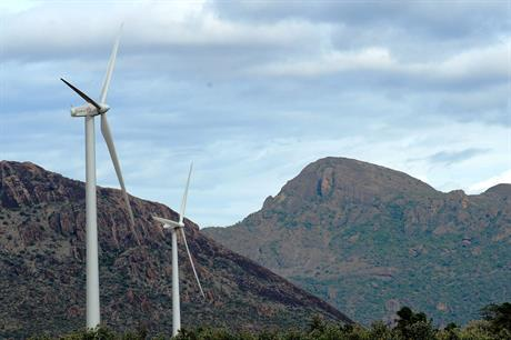 India has set a target of 60GW of wind power by 2022