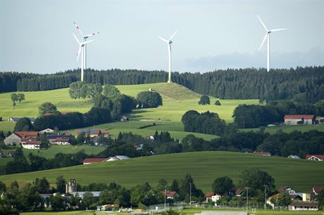 Omshore wind farms in Germany are expected to produce 94GWh in 2018 (pic credit: Siemens)