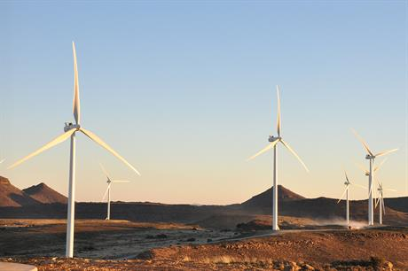 Gestamp's 73.8MW Noblesfontein project was completed in July 2014