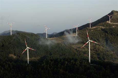 Glennmont Partners' renewables portfolio includes onshore wind farms in Italy, France, the UK, and Ireland