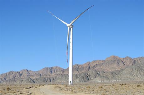 Goldwind's 1.5MW turbine will be installed at the site in southern Pakistan