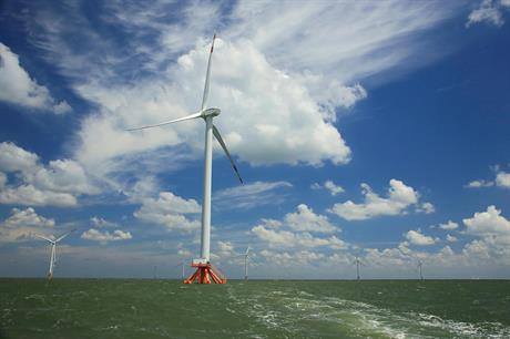 China installed the most offshore wind in 2019, but emerging markets will begin playing a greater role (pic: Goldwind)