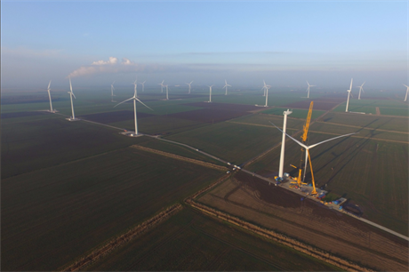 Innogy's Goole Fields onshore site - England's latest onshore addition