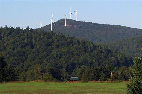 The Groton wind farm is at the centre of the dispute