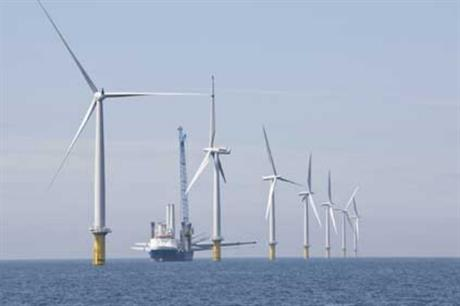 RWE developed the Gwynt y Mor project in UK waters