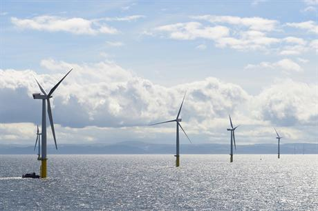 A further 576MW of capacity could be added to the Gwynt y Môr site off the coast of North Wales (pic credit  RWE)