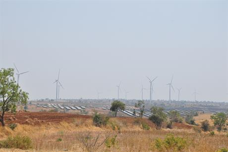 India only has 100MW of operational wind-solar hybrid projects (pic credit: Hero Future Energies)