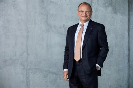 Vestas CEO Henrik Andersen (above) explained the deal to buy out MHI's stake in the offshore wind joint venture alongside CFO Marika Fredriksson today