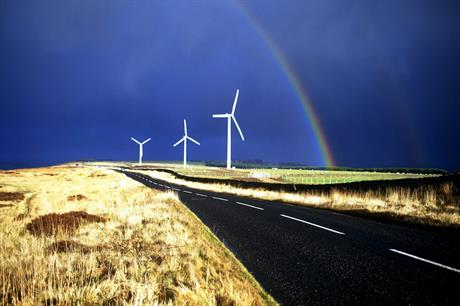 The 550.5MW portfolio includes the 5.2MW High Hedley wind farm (above) in Durham in the north-east of England