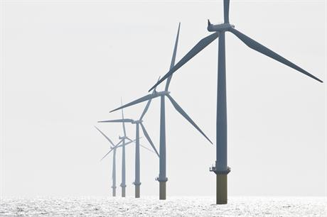 Denmark currently has 1.7GW of operational offshore wind capacity (pic credit: Ørsted)