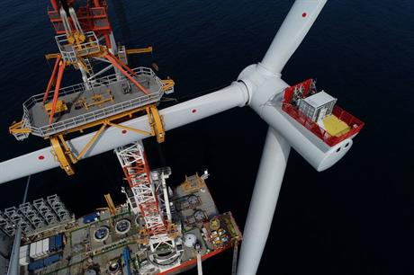 Ørsted is currently developing Hornsea One (above), which will be the world's largest offshore wind farm upon completion