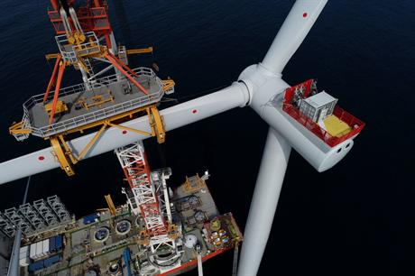 The ramp-up of power generation from the Hornsea One offshore wind farm boosted Ørsted's earnings in the first half of the year