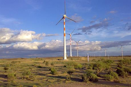 IL&FS has a wind portfolio of approximately 775MW in India