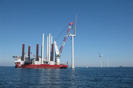 Vestas installs first V112s off Karehamn