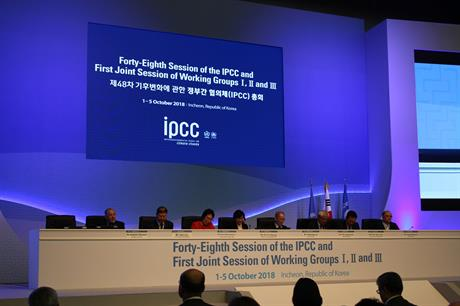 The IPCC released the report at its 48th Session, being held in South Korea