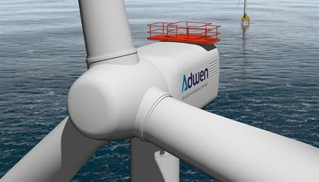 Adwen 8MW platform prototype will start mechanical testing in the Dynalab facility in December