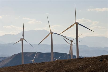 The 71.7MW Manjeel wind project in Iran - the country has 117MW installed (photo: Ali Majdfar)