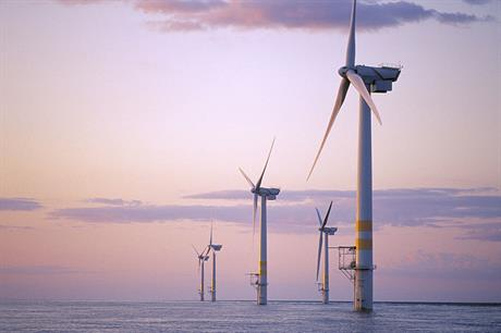 Ireland currently only has one operating offshore wind farm, the 25MW Arklow project in the Irish Sea (pic: GE Renewable Energy)