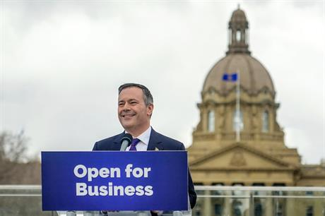 Alberta premier-designate Jason Kenney pledged to end 'costly subsidies' for renewable energy