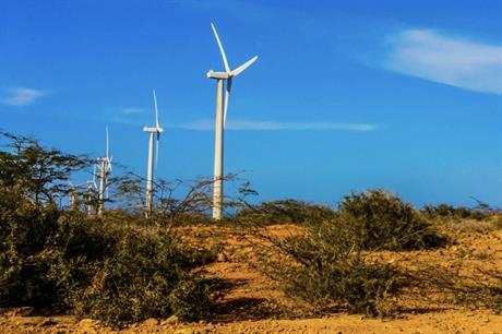 Colombia's sole wind farm, the 19.5MW Jepírachi project, will soon be joined by new facilities (pic credit: Jorge Mahecha/Wikimedia Commons)