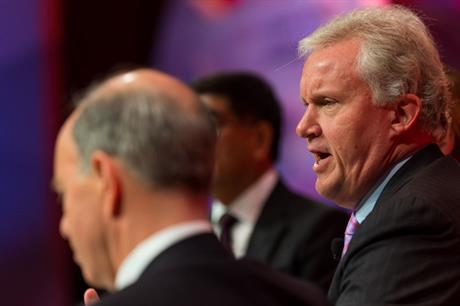 GE CEO Jerry Immelt is meeting with French government officials