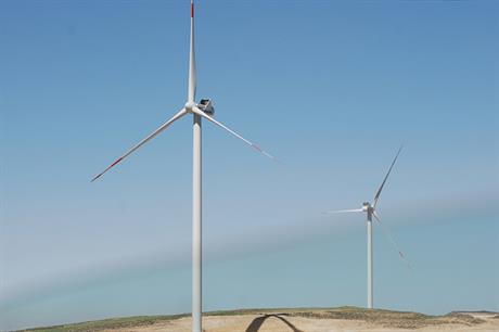Vestas supplied turbines to the 117MW Al Talifah project in 2015 (pic: JWPC)