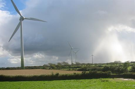 Wind capacity in France grew by more than 1GW in 2014