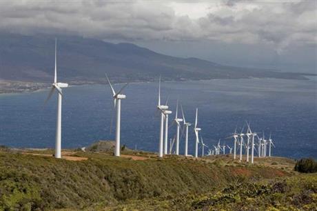 TerraForm Power's Kaheawa site on Maui (pic: Klaus Obel)