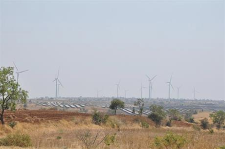 Hero Future Energies commissioned India's first wind-solar hybrid site in Karnataka in 2018