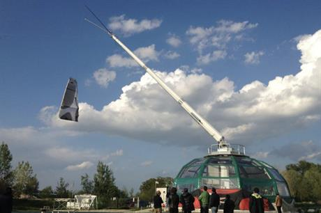 KiteGen has previously tested prototypes at altitudes of between 1km and 2km