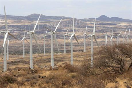 The Lake Turkana wind farm first delivered power to the grid in September (pic credit: Ketraco)