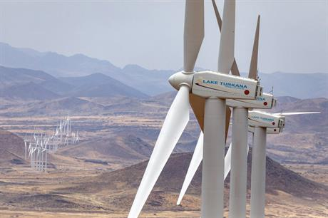 Kenya's 310MW Lake Turkana wind farm - the largest project in Africa - was commissioned last year