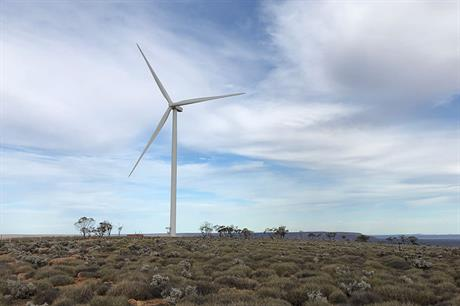 Vestas will service the existing Senvion turbines at Lincoln Gap 1 as well as supply the turbines for phase 2 (pic: Nexif Energy)